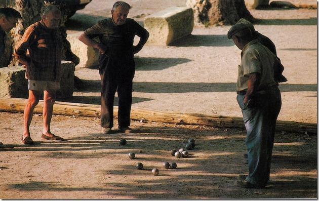 Foto kann wieder in Original gemacht werden.Provence Pétanque  PK  -007
