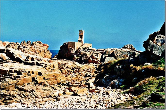 gebraucht Bréhat 2 Bretagne 1991 Kapelle an der rosa Steinküste 204