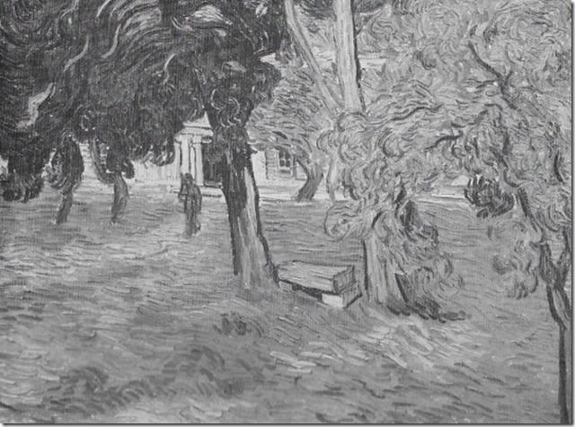 z Park des St. Paul-Spitals Saint- Rémy, 1889
